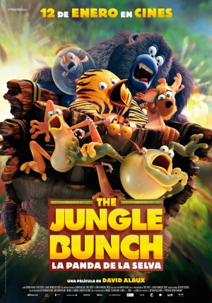 The jungle bunch, la panda de la selva